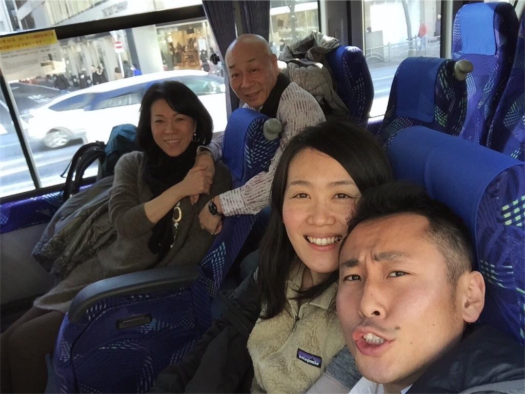 ご両親にお見送りしてもらい成田空港へ