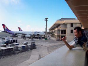 《ハワイ》ホノルル ダニエル・K・イノウエ国際空港 JALサクララウンジ ハレ 体験記